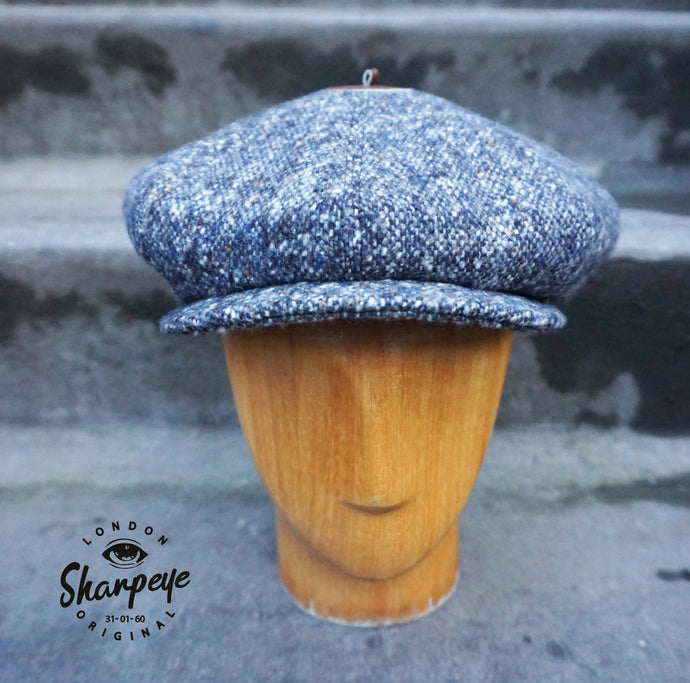 3 Point Stoker Cap - Donegal (1-in-Ten) 1930s Styling