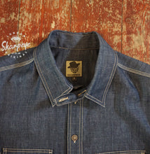 Load image into Gallery viewer, Reef Shirt - Denim (1-in-Ten) Engineered - reduced from £135