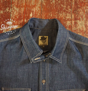 Reef Shirt - Denim (1-in-Ten) Engineered - reduced from £135
