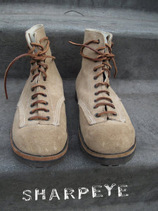 Hill Boots Natural Suede (press sample)