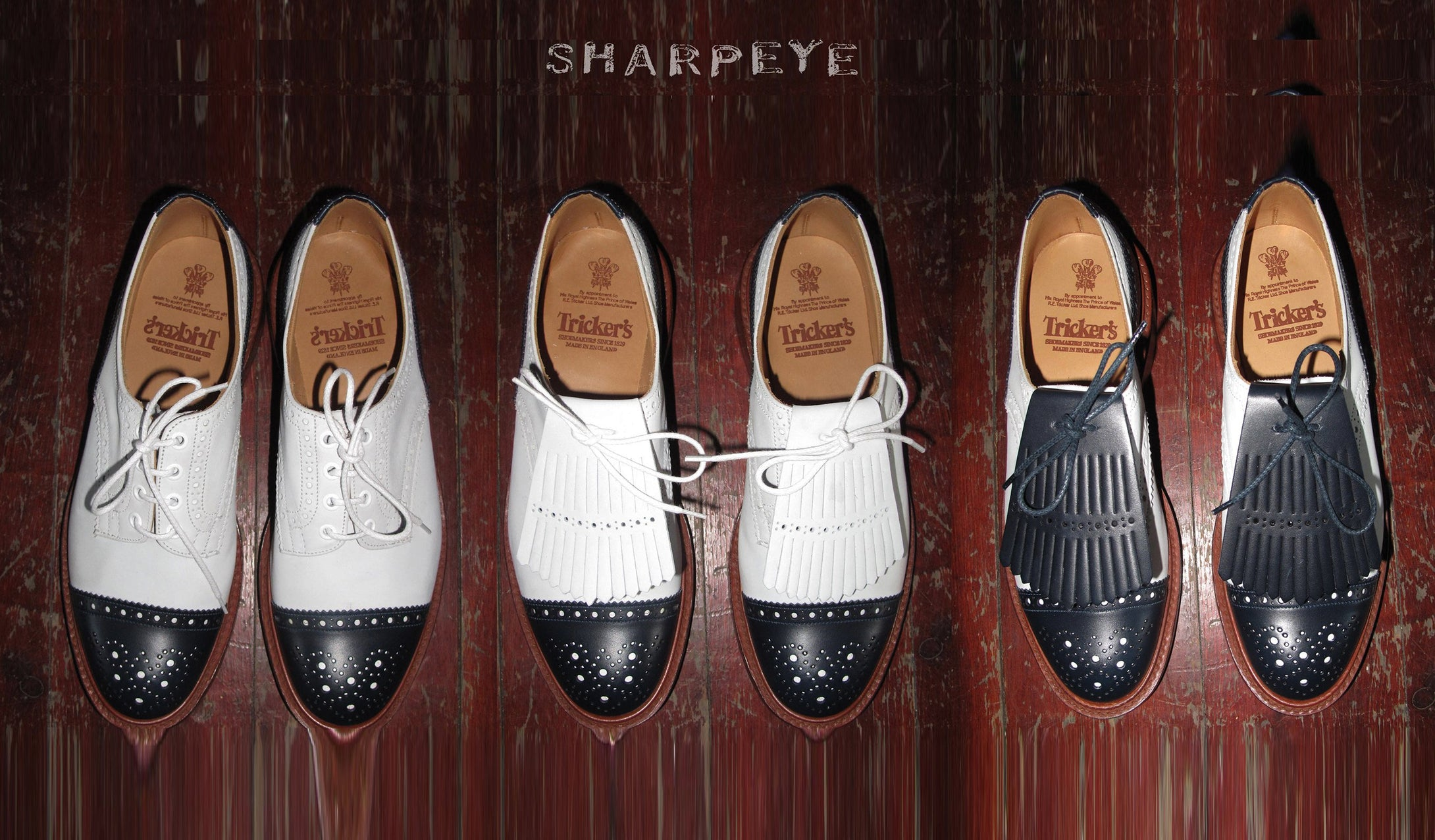 Trickers & Sharpeye - Correspondent Derby Brogues  (Made To Order)
