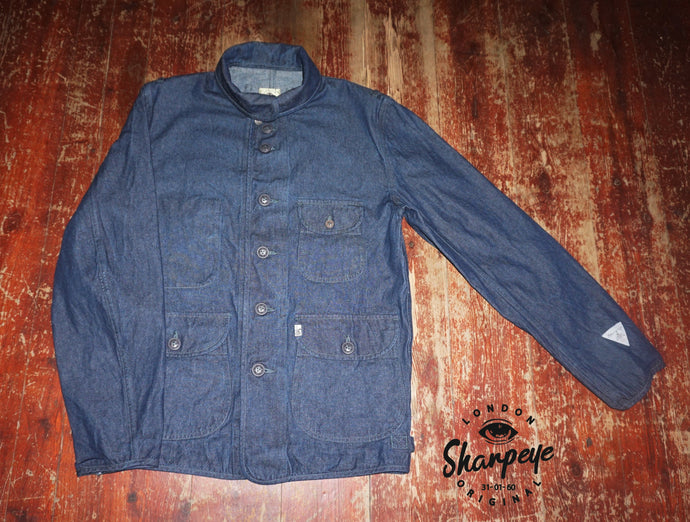 Luftwaffe Jacket - Japanese Denim - (1-in-Ten) - reduced from £175