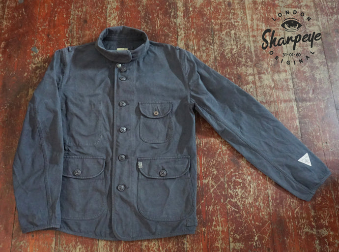 Luftwaffe Jacket - Gunmetal Blue - Japanese Canvas - (1-in-Ten) - reduced from £175