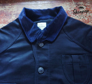 Shooter Jacket - Navy Japanese Gaberdine - (1-in-Ten) - reduced from £200