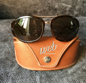 Web Vintage 1990s Sunglasses - Unworn - Model No.125 - Col 381 Tortoiseshell