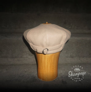 3 Point Stoker Cap - Chalk (1-in-Ten) 1930s Styling