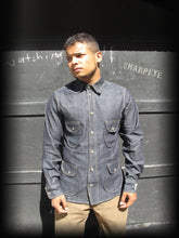 Load image into Gallery viewer, Safari Shirt - Denim (1-in-Ten) Engineered