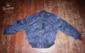 Original USAF MA1 Jacket - Navy - (1-in-Ten) - reduced from £190