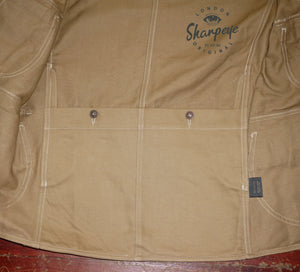 Shooter Jacket - Tan Japanese Gaberdine - (1-in-Ten) - reduced from £200