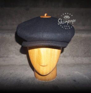 3 Point Stoker Cap - Navy (1-in-Ten) 1930s Styling