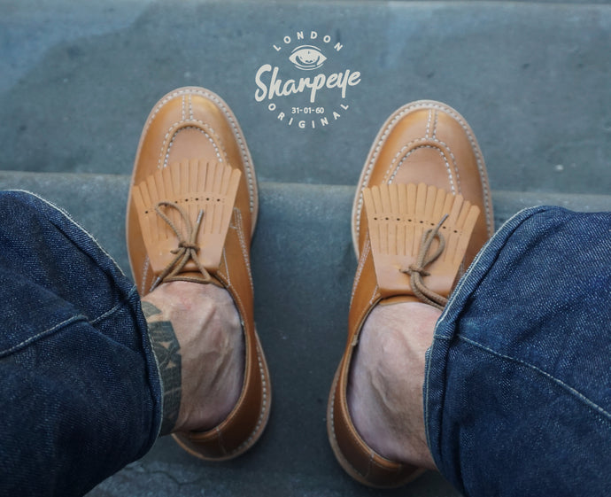 Sharpeye/Trickers Engineer Shoes - (1-in-Ten)
