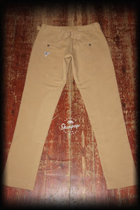 Jockie Pants - Tan Japanese Cotton Cavalry Twill (1-in-Ten) Engineered
