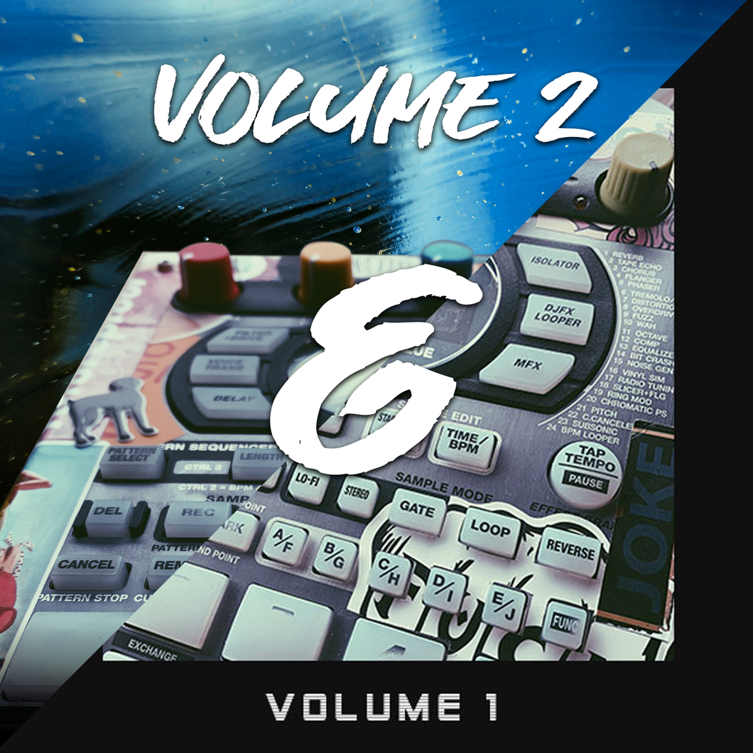 Lo-fi Drums Bundle (Vol.1 & Vol.2)