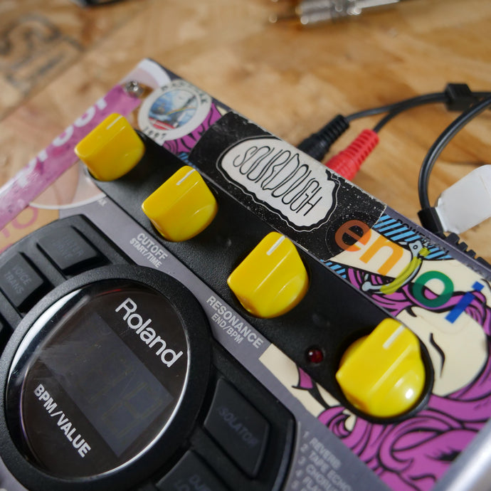 Flat Headz SP404SX/a Custom Dials (YELLOW)