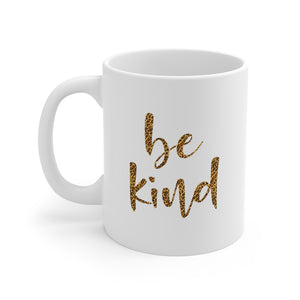 Leopard Blessed Inspirational Be Kind Message Mug