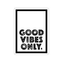 Load image into Gallery viewer, Good Vibes Only Stickers