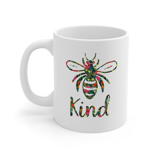 Inspirational Bee Kind Message Mug