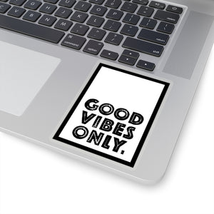 Good Vibes Only Stickers