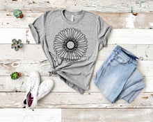 Load image into Gallery viewer, Sunflower, Plant Lady T-Shirt (Unisex)