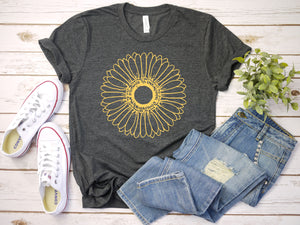 Sunflower, Plant Lady T-Shirt (Unisex)
