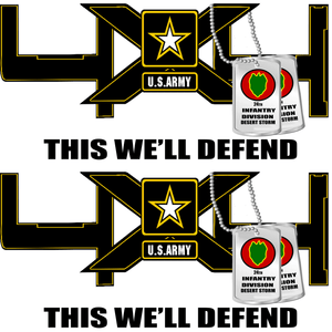 4X4 Army Truck Decals