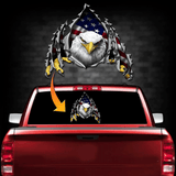 Eagle Rip Decal