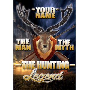 Hunting Legend Wall Art