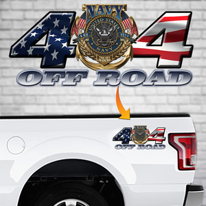 Off Road Navy Decal
