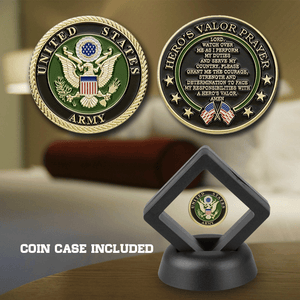 Hero's Valor Prayer Coin