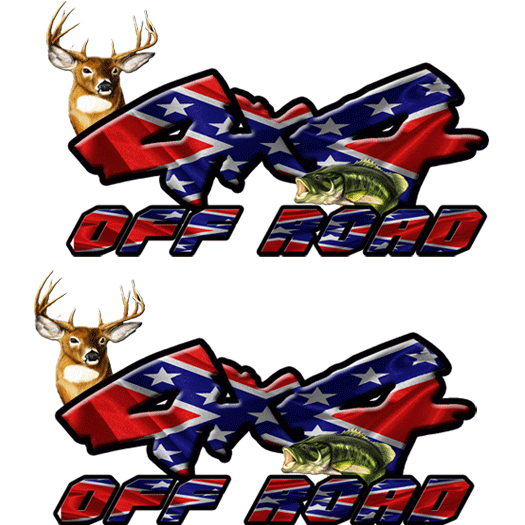 4x4 Deer/Bass Rebel