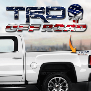 TRD Punisher Patriot Decal