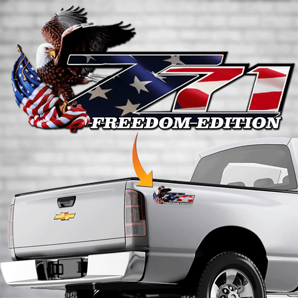 z71 Freedom Decal