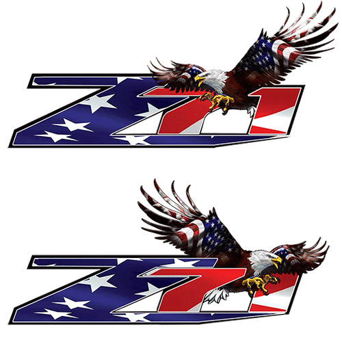 Z71 New Eagle Flag