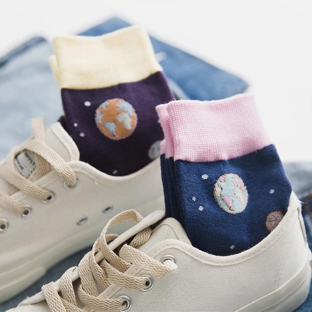 Girly Space Socks