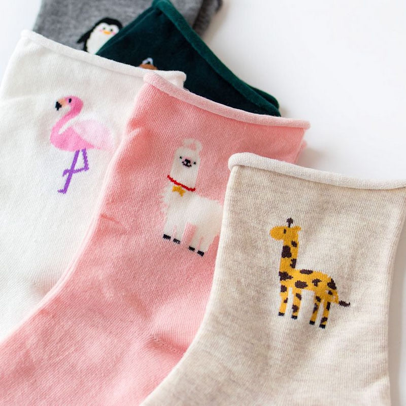 Girly Animal Socks