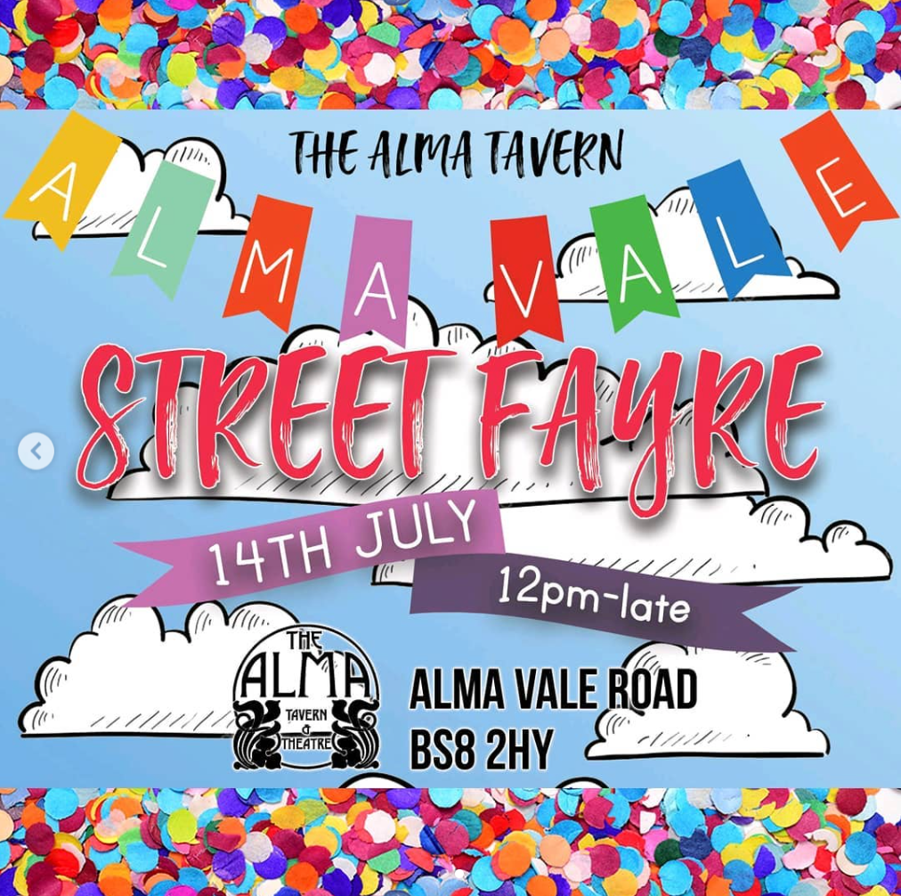 Alma Vale Summer Fayre - 12pm till late