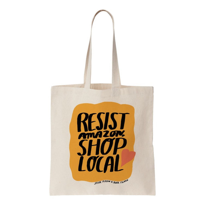 Resist Amazon Tote Bag