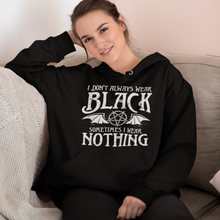 Laden Sie das Bild in den Galerie-Viewer, ALWAYS BLACK | Kapuzenpulli | Rock'N'Shirt