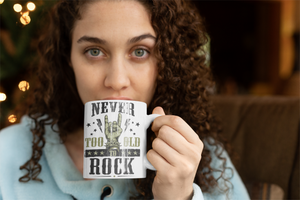 Never To Old To Rock | Kaffeetasse