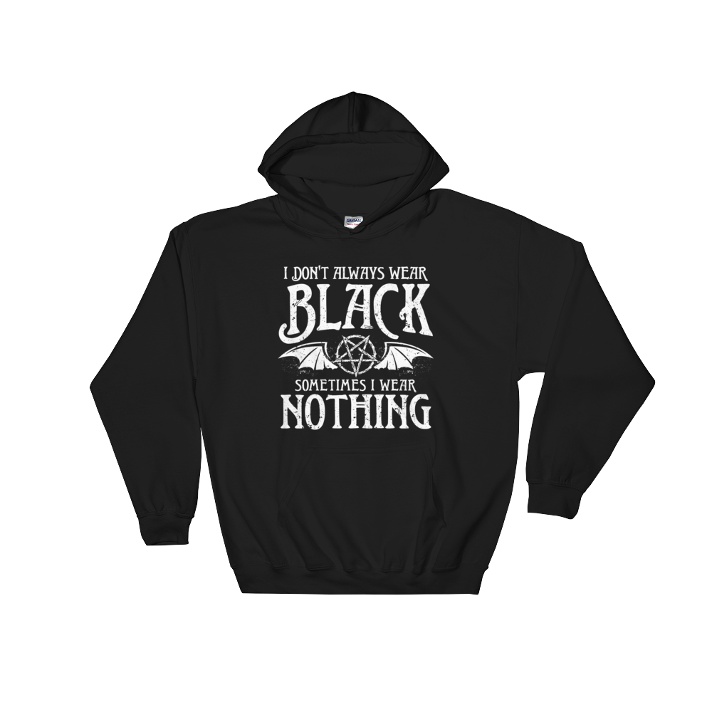 ALWAYS BLACK | Kapuzenpulli | Rock'N'Shirt