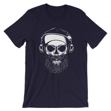 Laden Sie das Bild in den Galerie-Viewer, Bearded Skull | Premium Quality T-Shirt | RockNShirt
