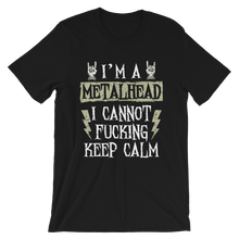 Laden Sie das Bild in den Galerie-Viewer, I'M A METALHEAD | UNISEX PREMIUM T-SHIRT | ROCK'N'SHIRT