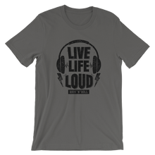 Laden Sie das Bild in den Galerie-Viewer, LIVE LIFE LOUD! (light)  | Premium Qualität T-Shirt | RNS