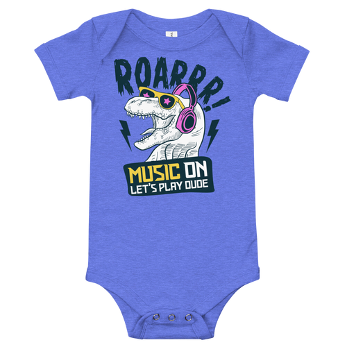 Music ON -Let's Play | Baby Body | RockNShirt