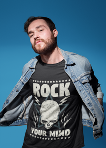 ROCK YOUR MIND| Kurzärmliges T-Shirt | ROCK'N'SHIRT