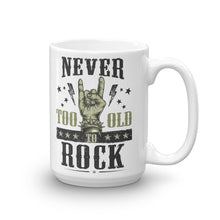 Laden Sie das Bild in den Galerie-Viewer, Never To Old To Rock | Kaffeetasse