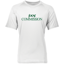 Load image into Gallery viewer, 100% Commi$$ion T Shirt - Green Letters