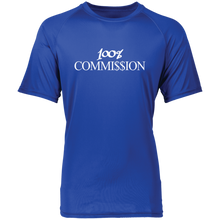 Load image into Gallery viewer, 100% Commi$$ion T Shirt - White Letters