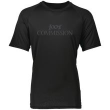Load image into Gallery viewer, 100% Commi$$ion T Shirt - Grey Letters