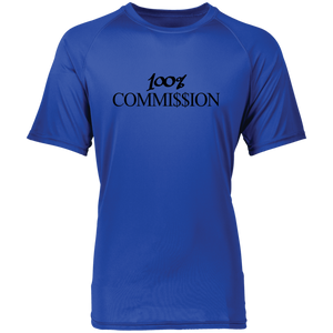 100% Commi$$ion T Shirt - Black Letters